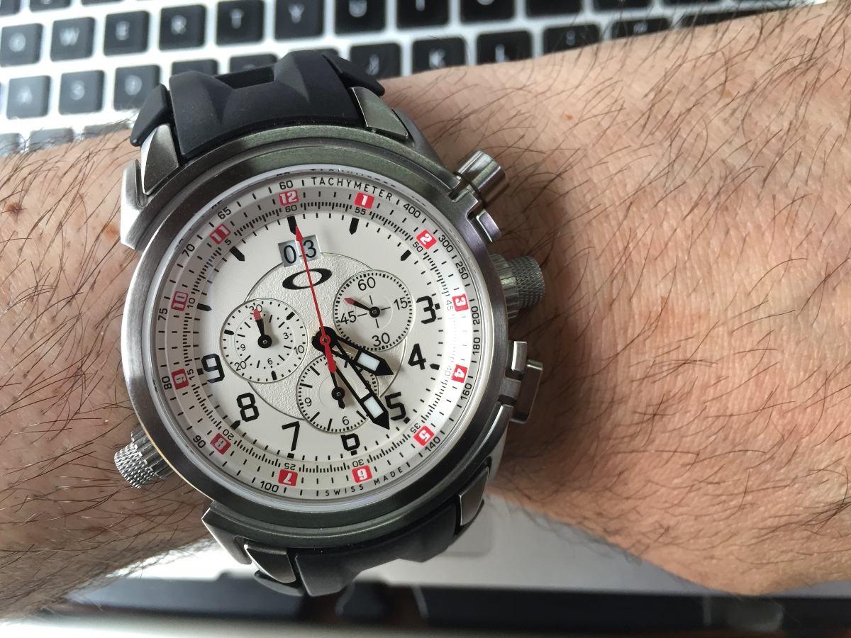 e17c46607f relógio oakley 12 gauge. Carregando zoom.