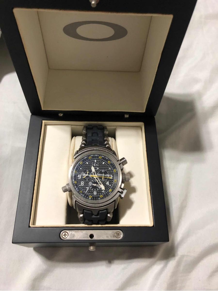 cecc2ddd73 relógio oakley gauge edição limitada. Carregando zoom.