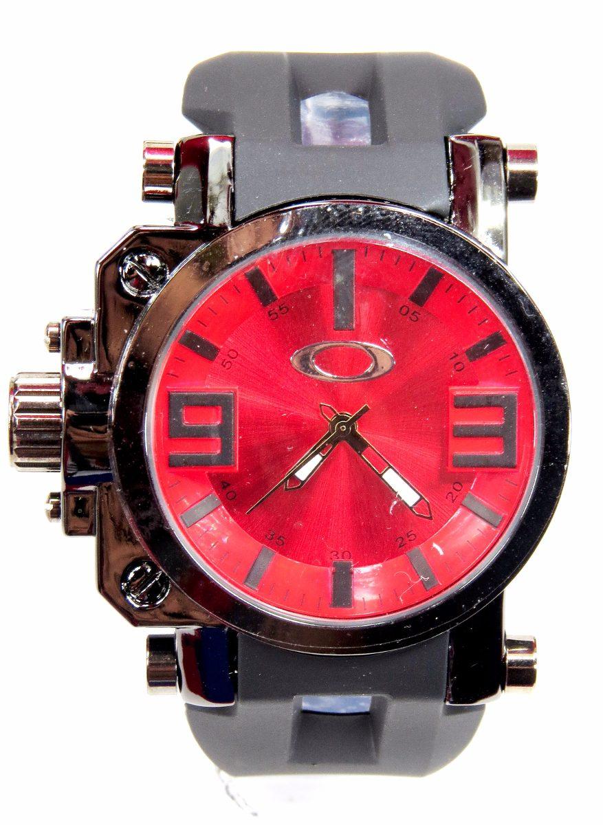 3a8ac518684 relógio oakley gearbox preto branco azul amarelo vermelho. Carregando zoom.