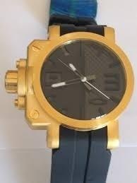 relógio oakley gearbox pulseira de borracha