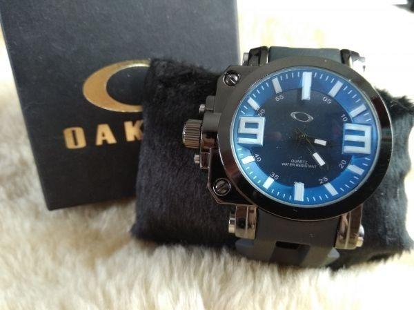 c8c5b1b9efe Relogio Oakley Gearbox Titanium - Top - R  134