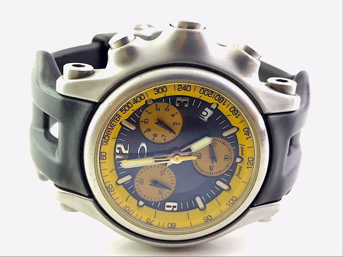 1295b7d603d relógio oakley holeshot 100% original. Carregando zoom.