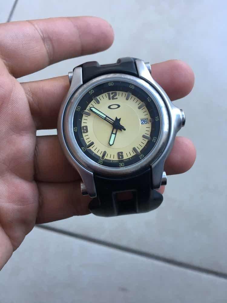 525ec4e6e8c relógio oakley holeshot. Carregando zoom.