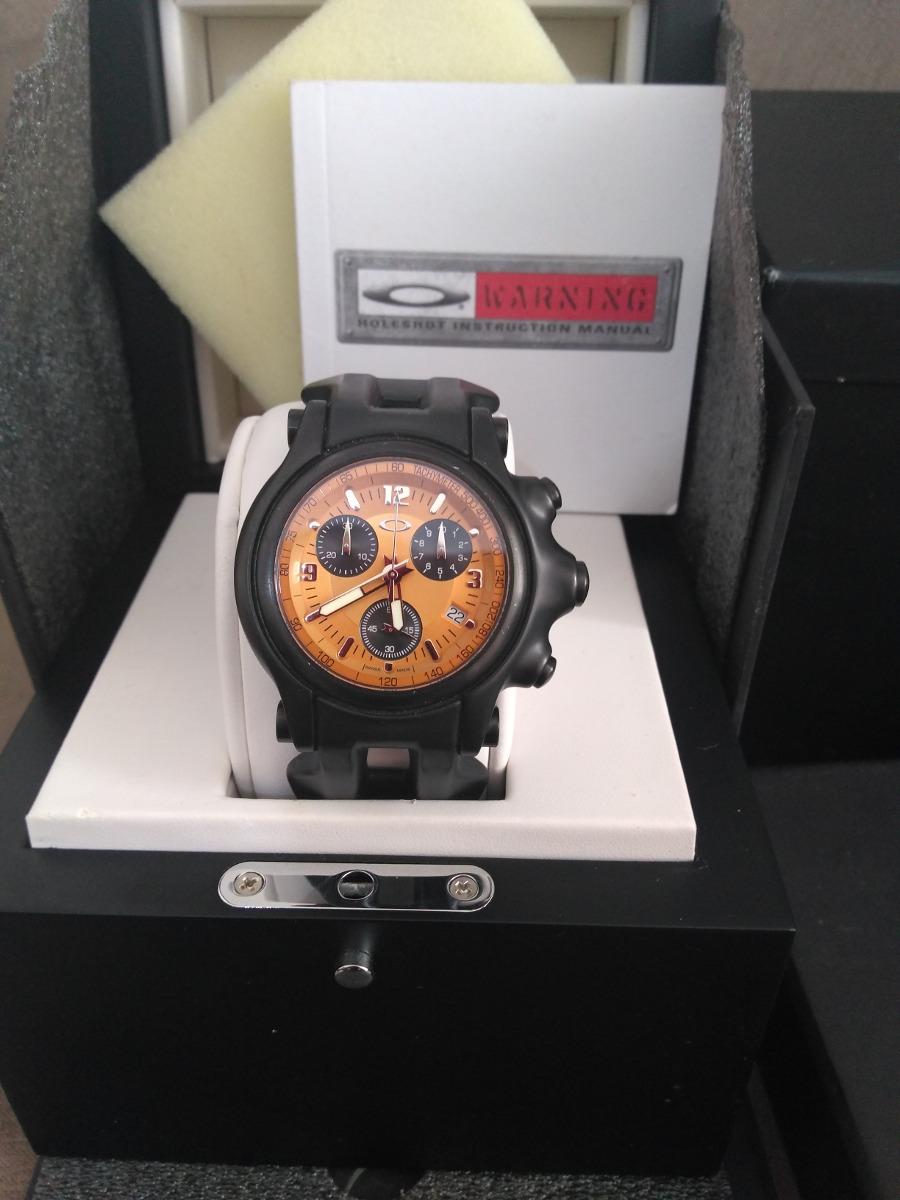 edf50c4c707 relógio oakley holeshot edição limitada. Carregando zoom.