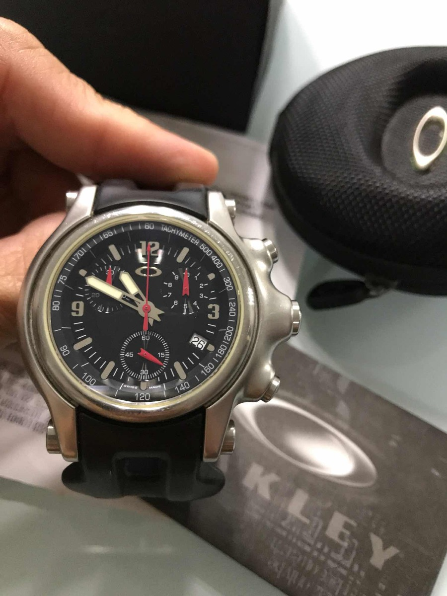 b4501f3f8d7 relógio oakley holeshot original. Carregando zoom.