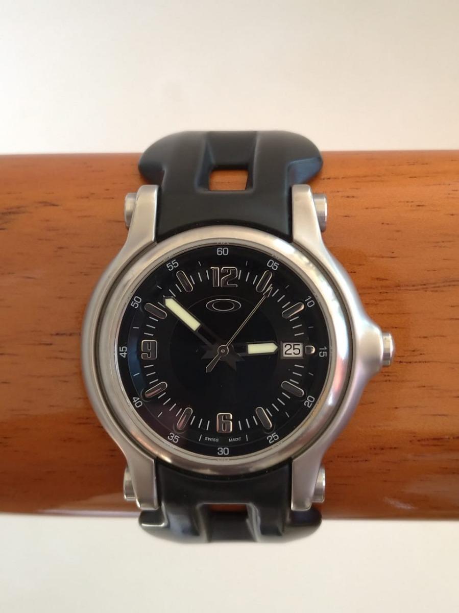 7114461af76 relógio oakley holeshot safira original surf. Carregando zoom.