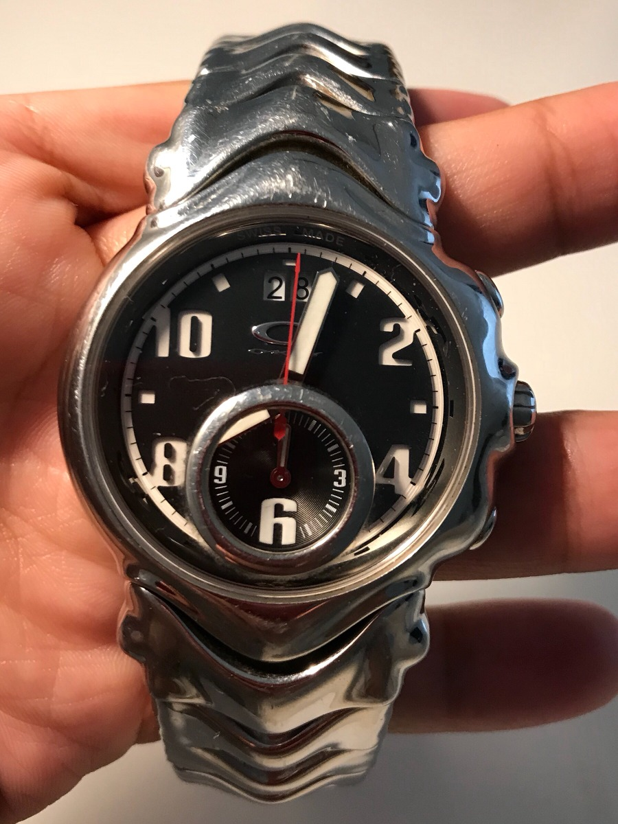 2c2c6850d4c Relógio Oakley Judge I Pulseira Aço