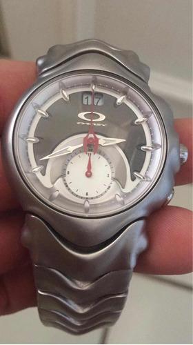 relógio oakley judge safira
