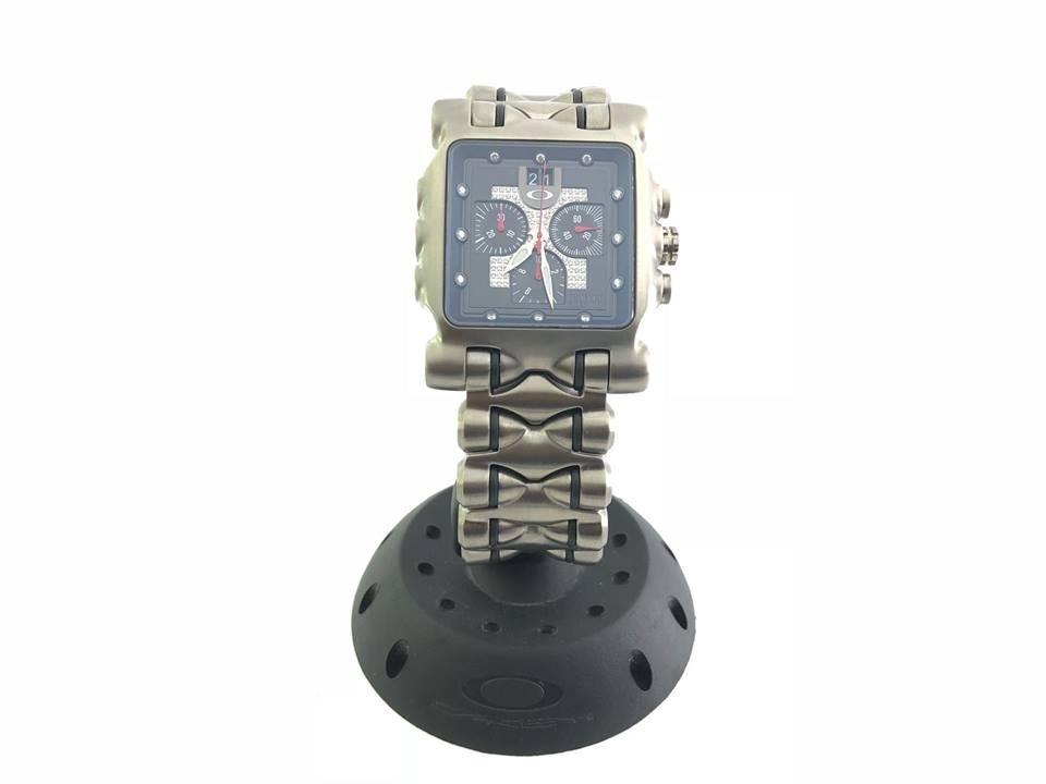 d2c7e46ac52 relógio oakley minute machine diamond na caixa 100% original. Carregando  zoom.