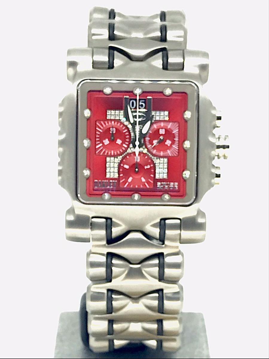 88ed736c8fbb4 relógio oakley minute machine diamond red sem juros. Carregando zoom.