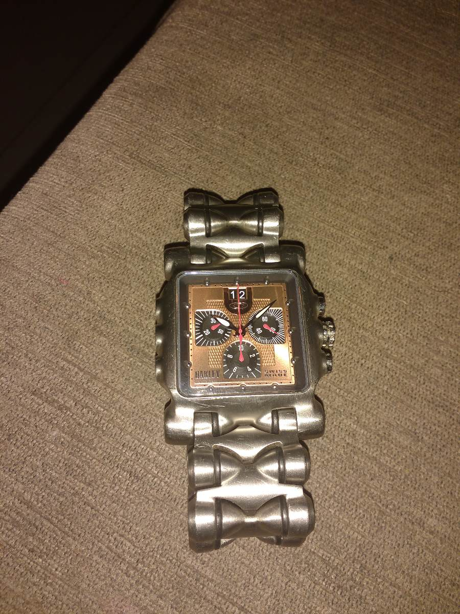 d24f64d4ffe relógio oakley minute machine original. Carregando zoom.