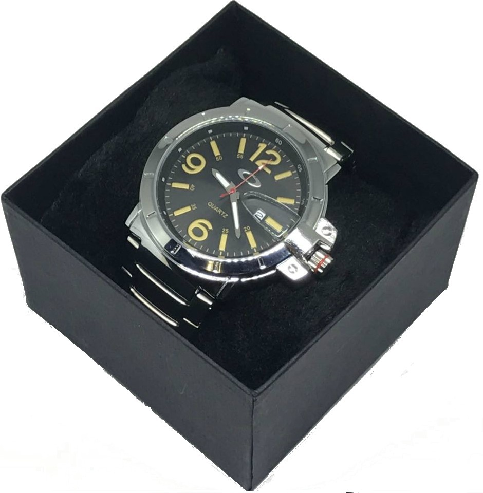 7603dcf650a Relógio Oakley Prata Aço Inox Fundo Preto - Branco Promoção - R  79 ...