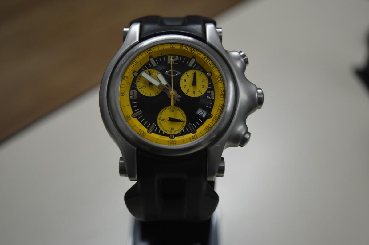 d26d992565a relógio oakley tachymeter fundo amarelo. Carregando zoom.