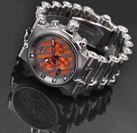 22d73623982 Relógio Oakley Tank Hollow Point Aço Inox + Caixa Acrílico - R  49 ...
