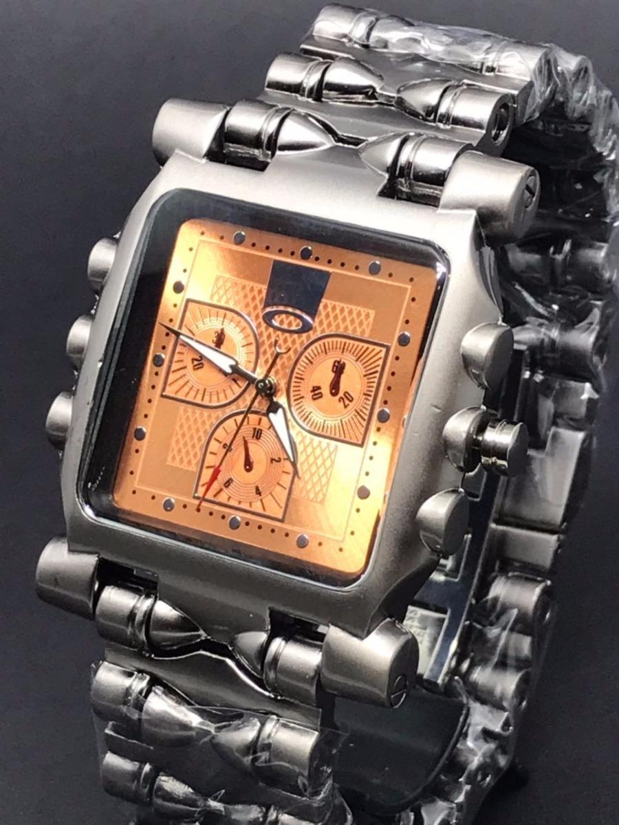 54815caf823 relógio oakley tank minute machine importado styl top barato. Carregando  zoom.