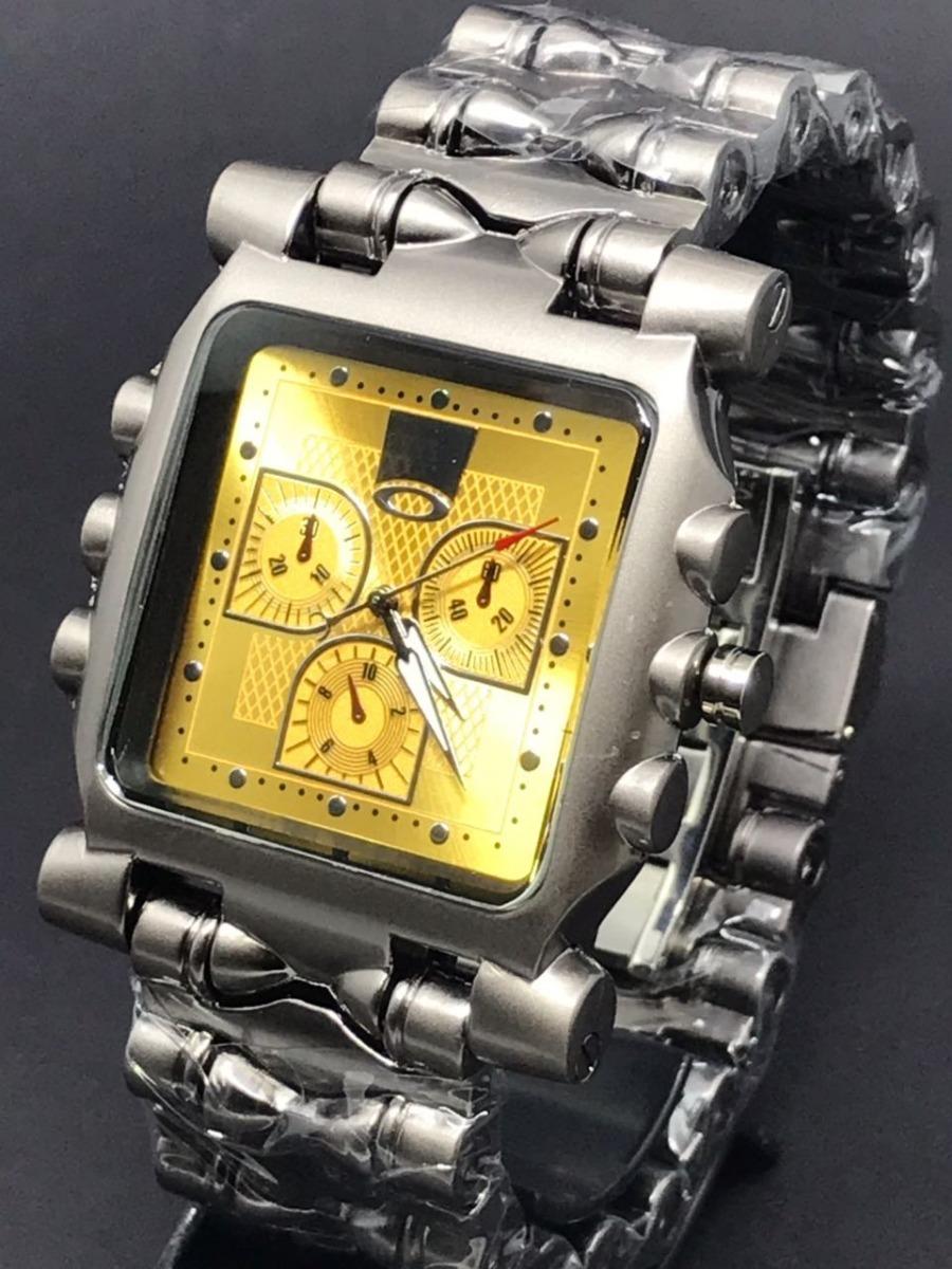 8c7d51a6c6cb2 Relógio Oakley Tank Minute Machine Promoção - R  49,85 em Mercado Livre