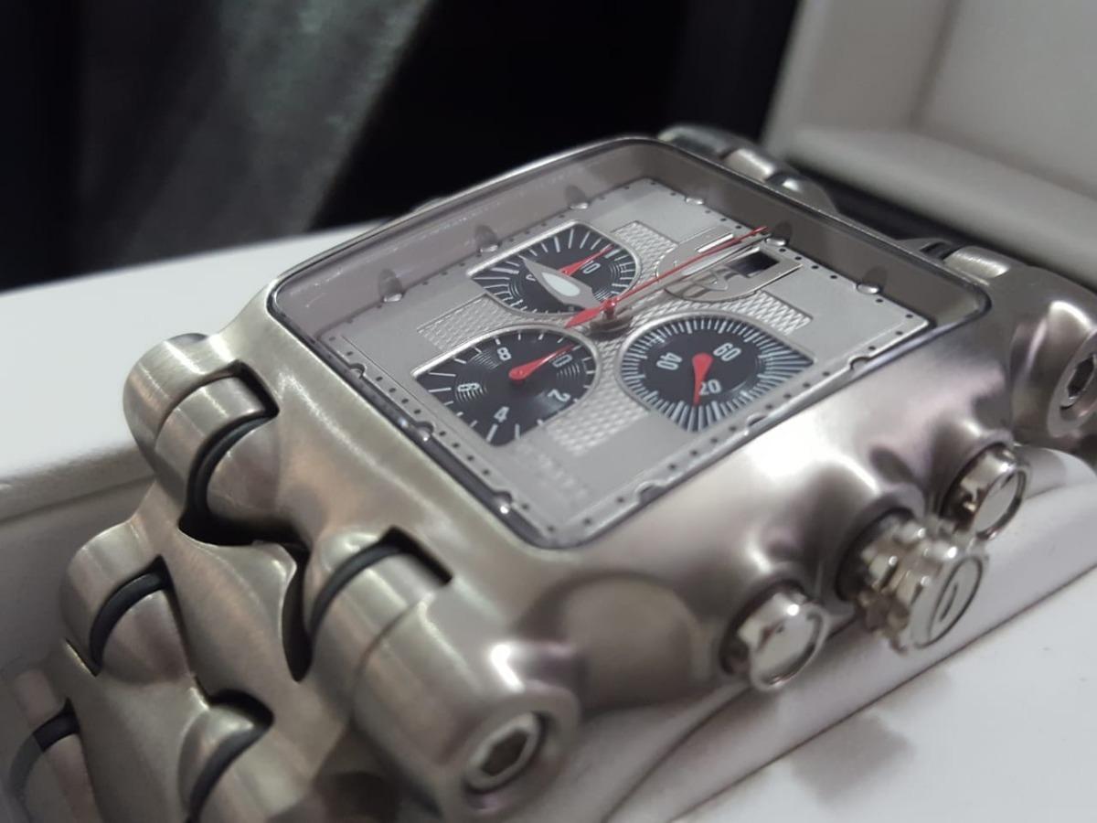 031790932eb12 relogio oakley time tank minute machine titanium lacres novo. Carregando  zoom.