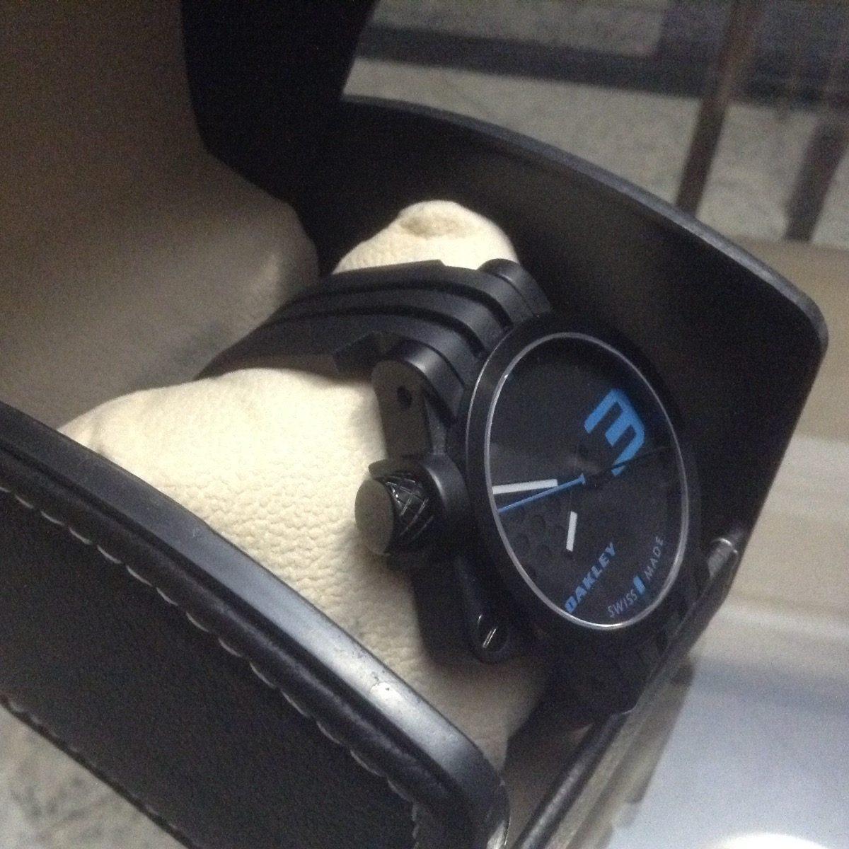 27703a3c693 relógio oakley transfer case - original - s  a caixa orig. Carregando zoom.