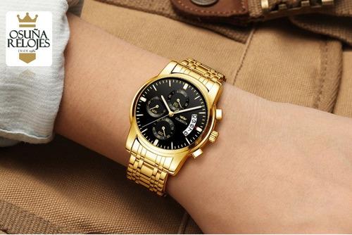 relógio olmeca masculino original luxo 100% funcional barato