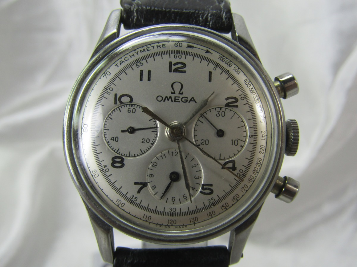 912f8f65517 Relogio Omega 321 27chro C 12 2287 1º Pré-moon Relogiodovovo - R ...