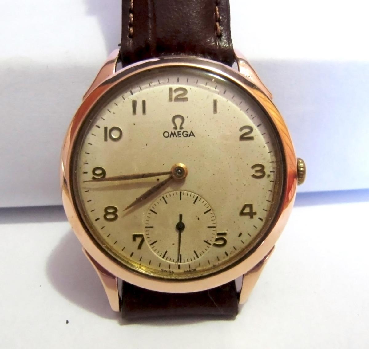 b907540b89f relógio omega a corda manual de ouro 18k antigo colecionador. Carregando  zoom.
