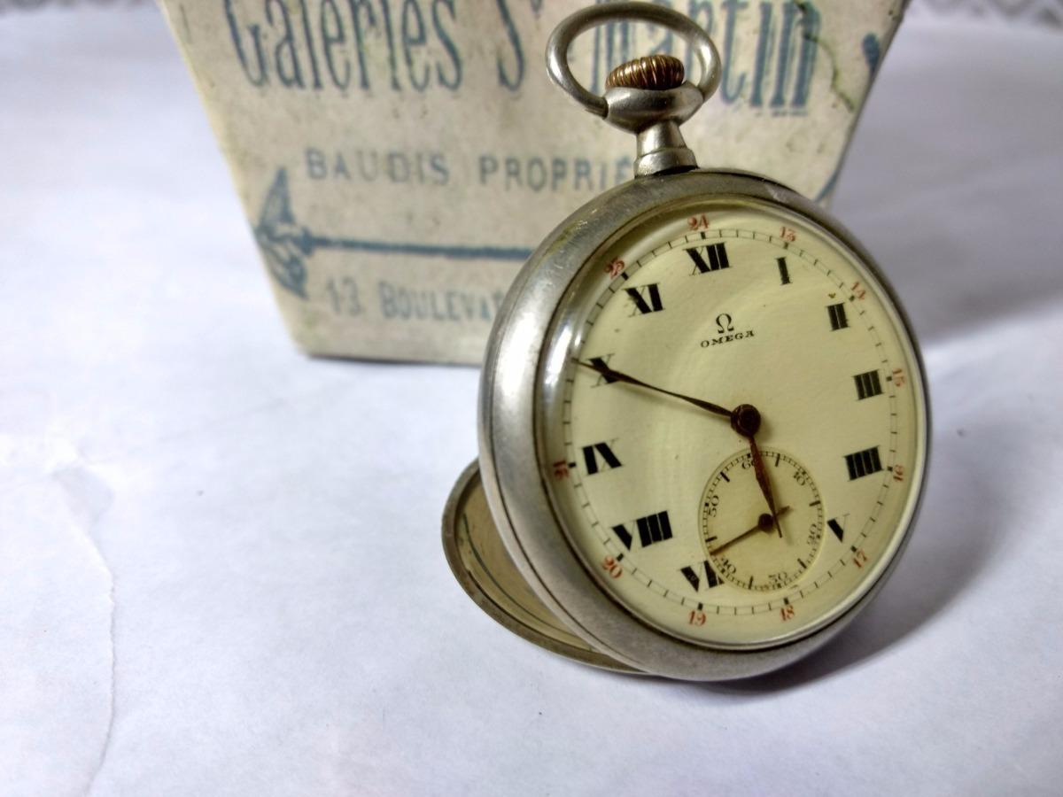 01f076bfc16 relógio omega antigo de bolso - colecionador. Carregando zoom.