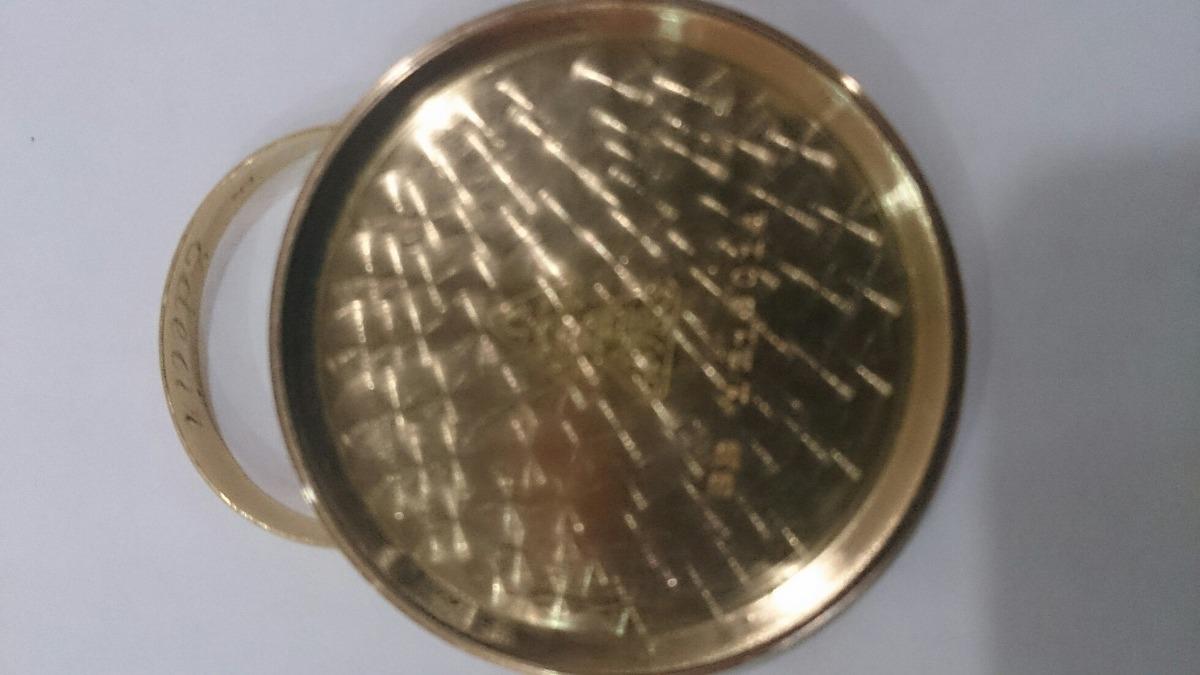 16a38997560 relógio omega antigo ouro rose 18k anos 70 pulseira de couro. Carregando  zoom.