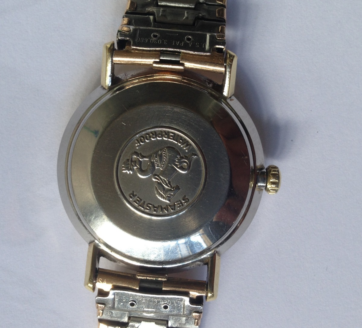 46a98785aa7 Relógio Omega - Auto - Swiss - Ful A Ouro