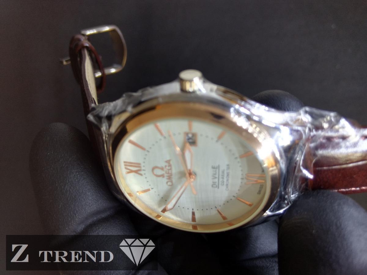 71be3029b8d Relógio Omega Banhado A Ouro 18k ( Veja Vídeo ) - R  299