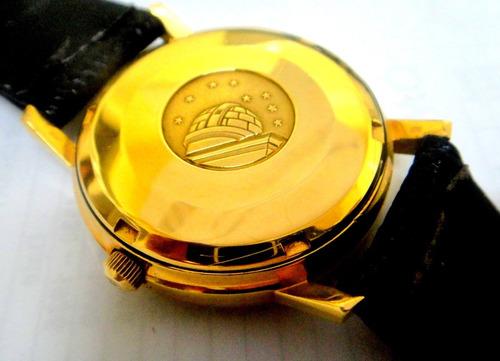 relógio omega constelation de ouro 18k