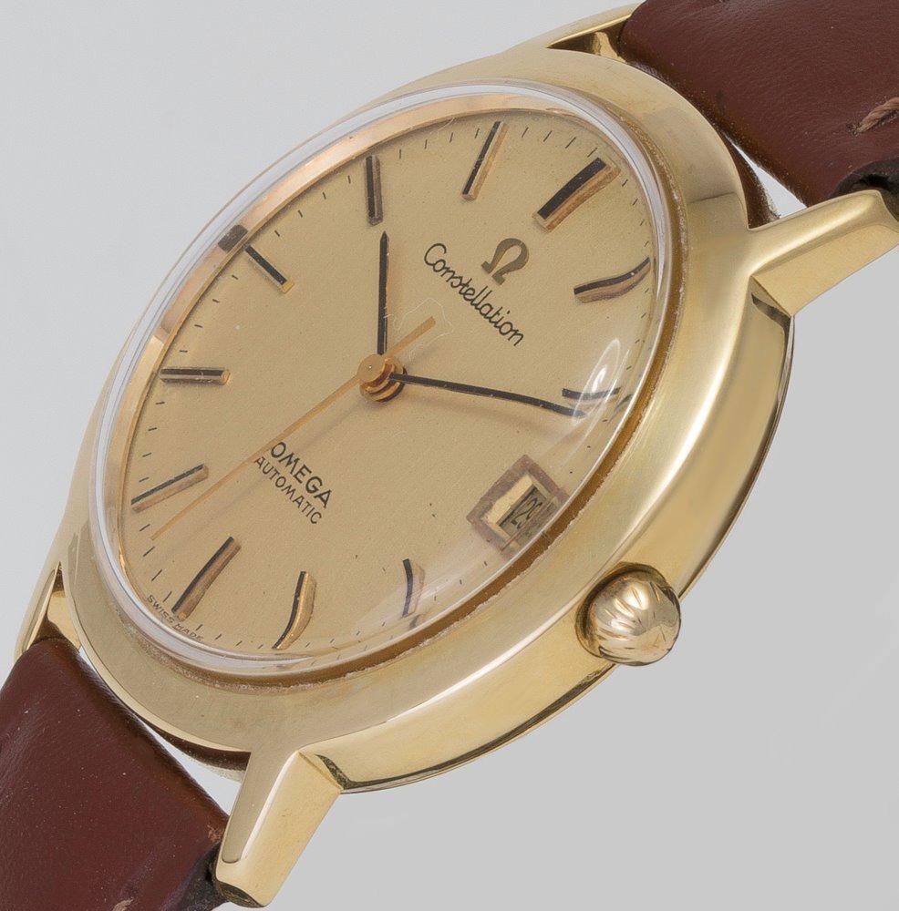 48bde72451d relógio omega constellation automático em ouro 18k. Carregando zoom.