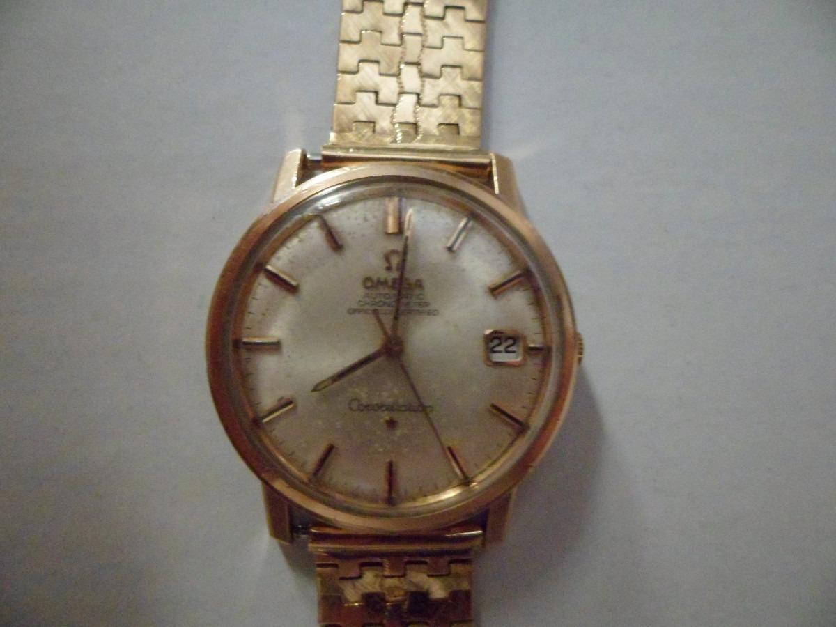 83feb633b89 relógio omega constellation de ouro raro antigo trocas. Carregando zoom.