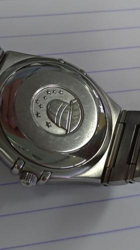 relógio omega constellation manhattan automático
