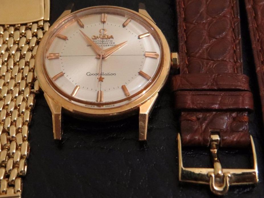 399ef80dee4 Relógio Omega Constellation Nos Piepan Ouro Chronometer - R  30.000 ...