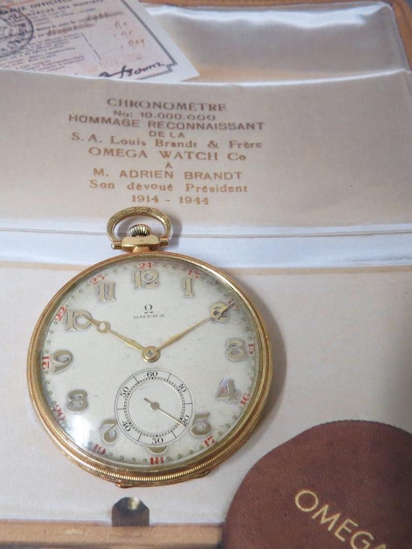 9a63ac1fd76 relógio omega de bolso art deco ouro sólido antigo. Carregando zoom.