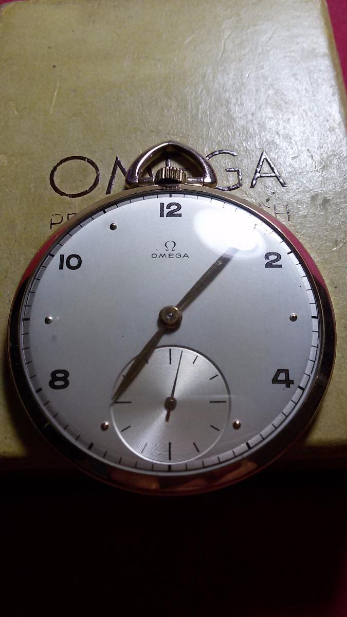 e431af20b1a Relógio Omega De Bolso Plaque Or L 80 Microns - R  2.100