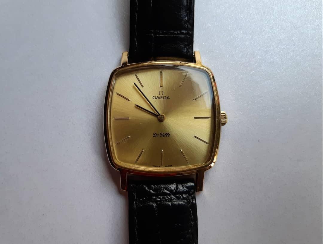 d59def5687b relógio omega de ville década de 70 à corda original antigo. Carregando  zoom.