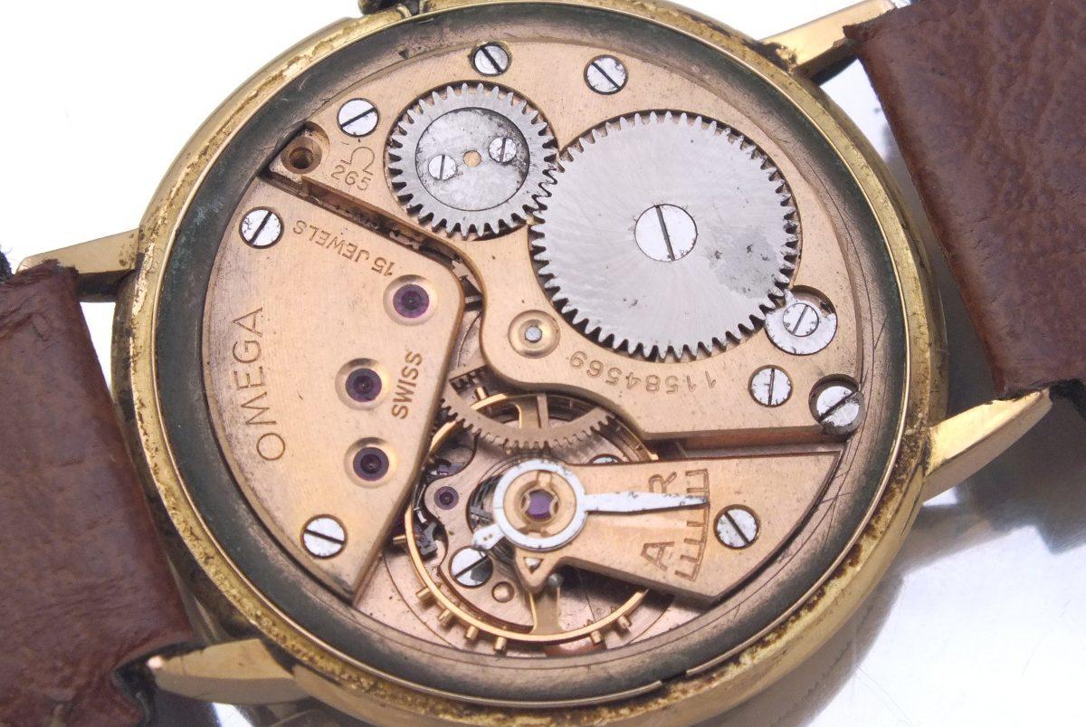 38c6871254c relógio omega ferradura masculino todo em ouro 18k j12625. Carregando zoom.