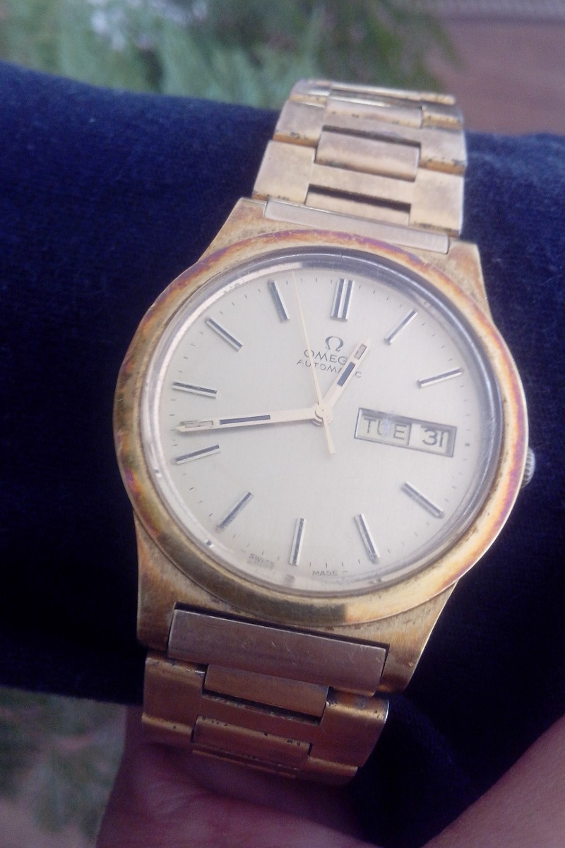 4e89b15b89b Relógio Omega Ferradura