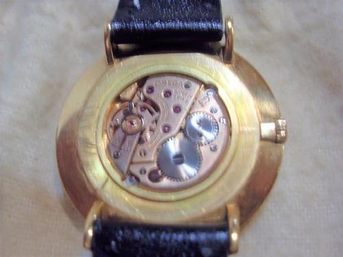relógio omega genéve em ouro 18 k