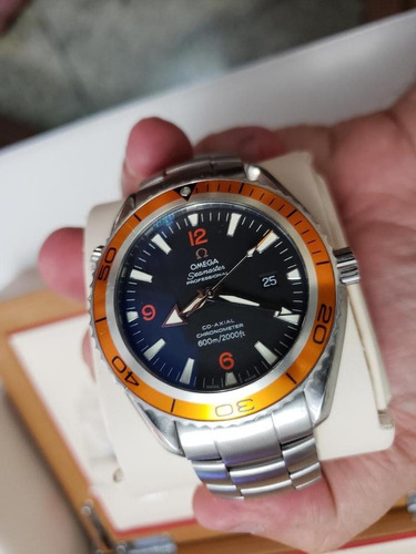 relógio omega planet ocean 600m