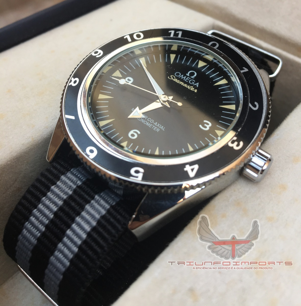 068ea19145e relógio omega seamaster 007 spectre. Carregando zoom.