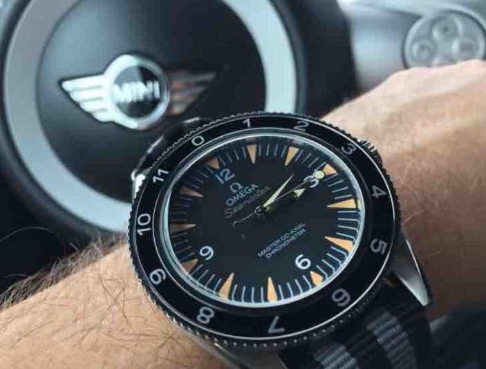dee01ab45ee Relógio Omega Seamaster 007 Spectre - R  254
