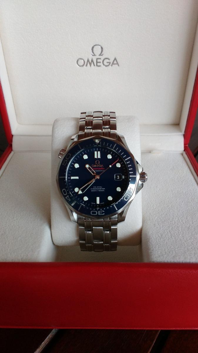 a02875c7578 relógio omega seamaster 300m co-axial 41mm. Carregando zoom.