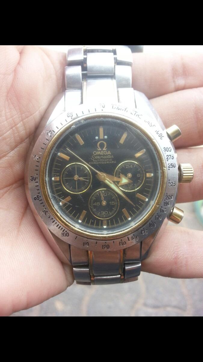 e1c0d1cc952 relogio omega seamaster automatic chronograph. Carregando zoom.