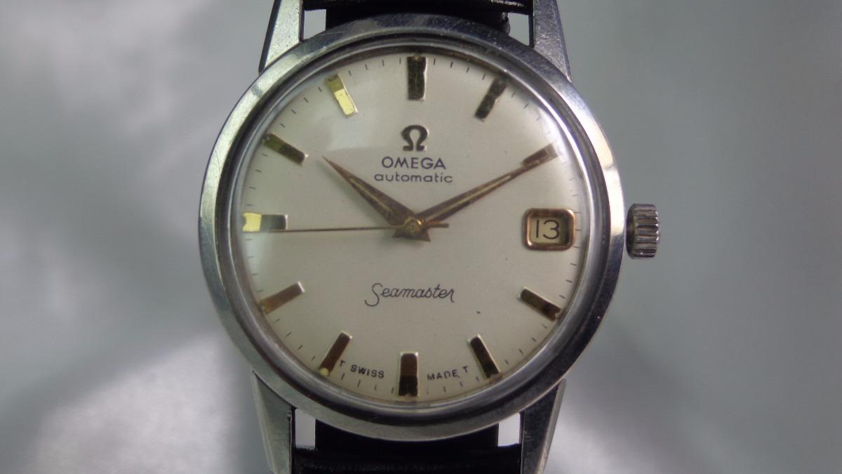 0aa80952cdd Relógio Omega Seamaster Cal.562 De 1962 Microm.relogiodovovô - R ...