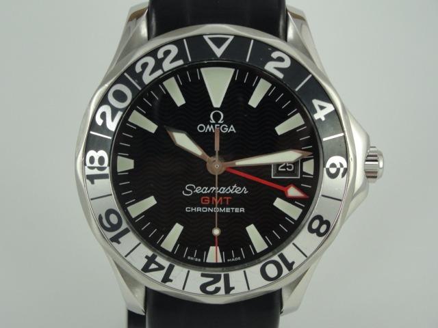 2c8fb676def Relógio Omega Seamaster Gmt - Automático - Swiss Made - R  9.200
