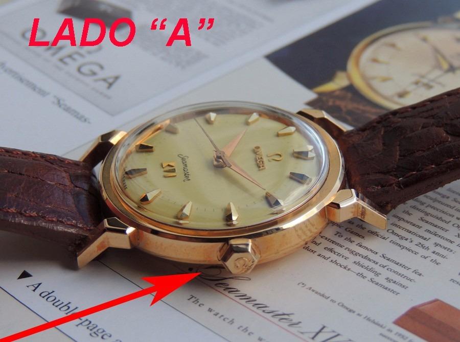 2e89cee9859 relógio omega seamaster olimpico xvi ouro maciço estojo orig. Carregando  zoom.