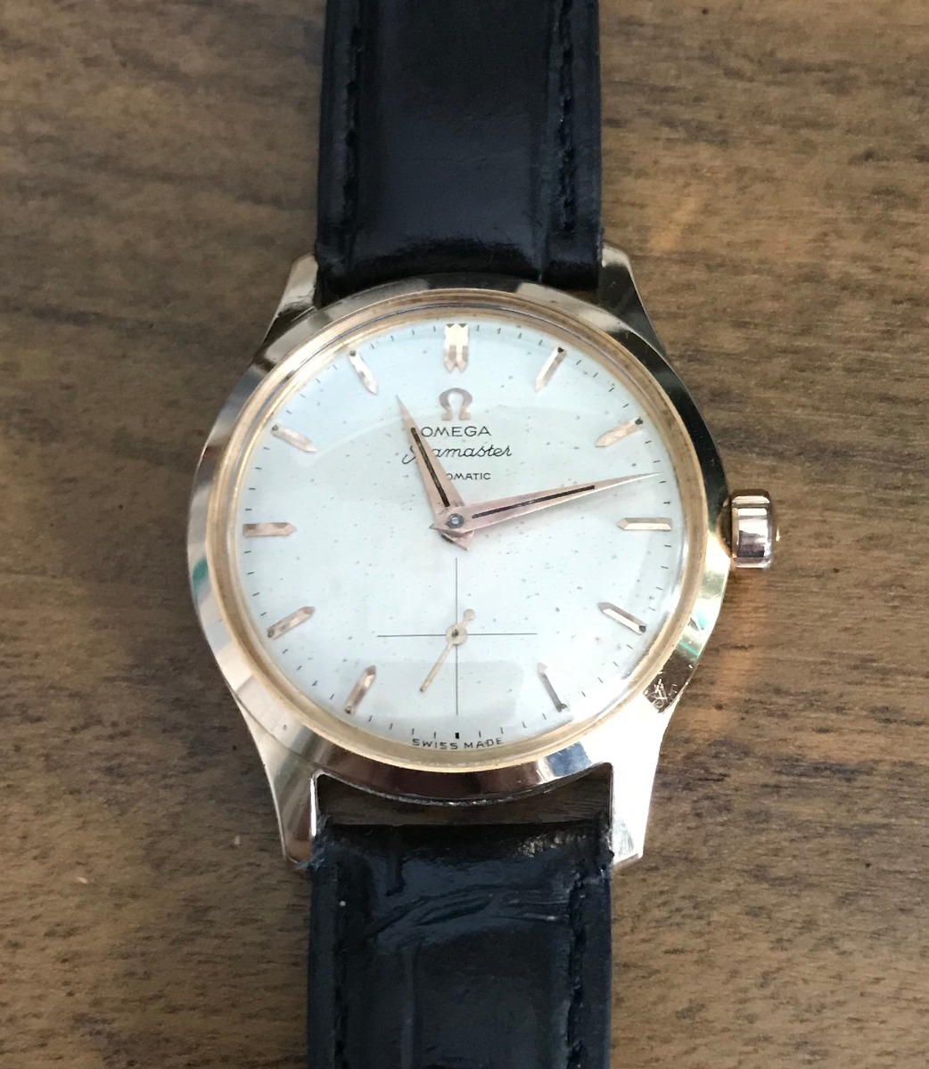 459759f848d Relogio Omega - Seamaster - Ouro 18 Kt - Automatic - 34 Mm - R ...