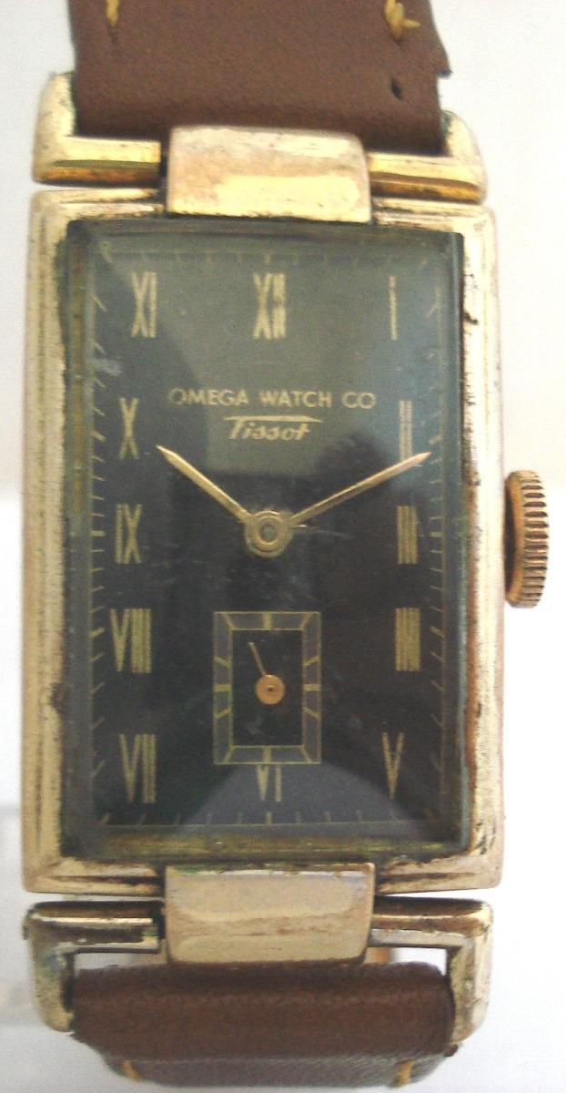 89c35e60bf7 relógio omega tissot plaquê ouro antigo coleção suiço. Carregando zoom.